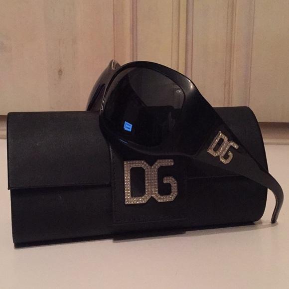 29876b32005 Dolce   Gabbana Accessories - Dolce   Gabbana Swarovski Crystals Sunglasses  4007